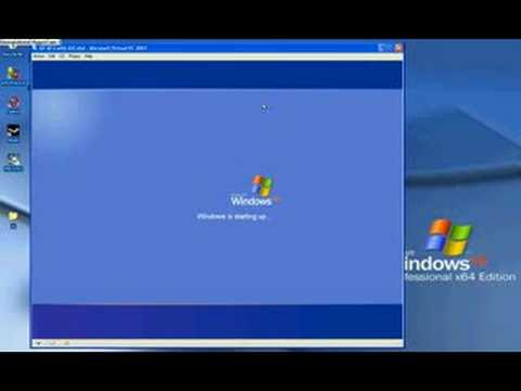 Xp Installed on Ram Partition