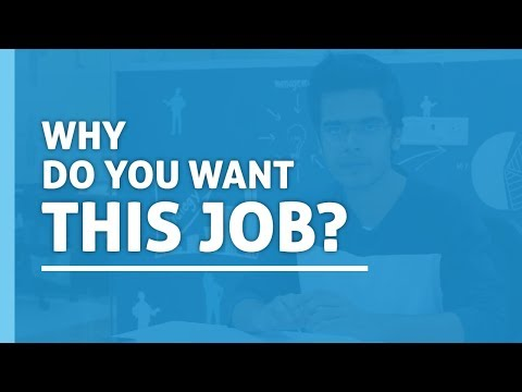 Why Do You Want This Job? || Interview Preparation || Common Interview Questions
