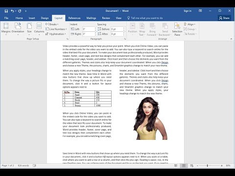 How to Divide into Two Columns Anywhere in MS Word Word (2003-2016)