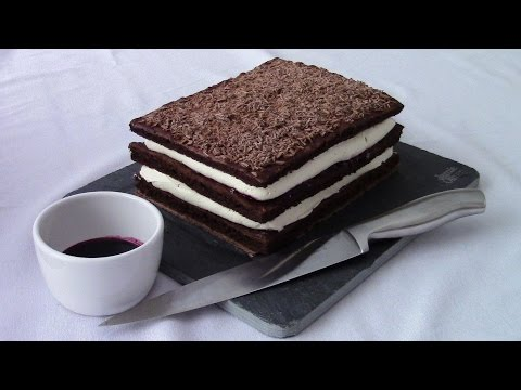 Black Forest Cake (Chocolate Cherry 3 Layer Cake)