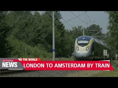 Eurostar to launch London-Amsterdam route on April 4