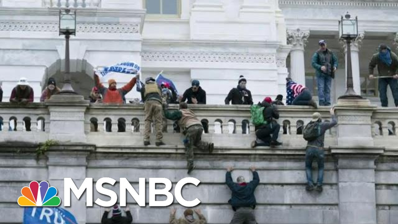 Disturbing New Video And Details Emerge From Capitol Riot | Morning Joe | MSNBC