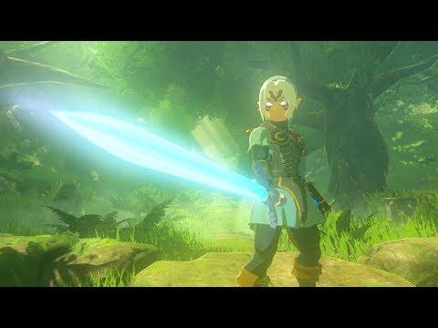Zelda: BOTW (Fierce Deity Link Unveils The True Power Of The Master Sword)