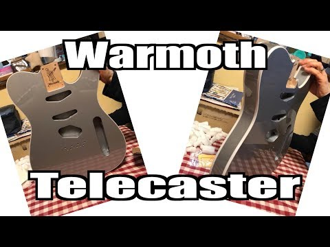 Warmoth Telecaster Unboxing - MULLY