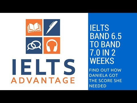 From IELTS Band 6.5 to Band 7 in 2 Weeks