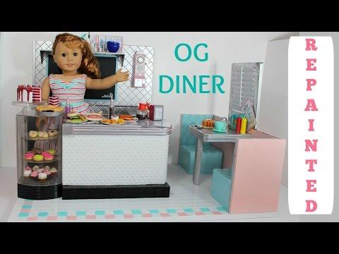 DIY American Girl Diner