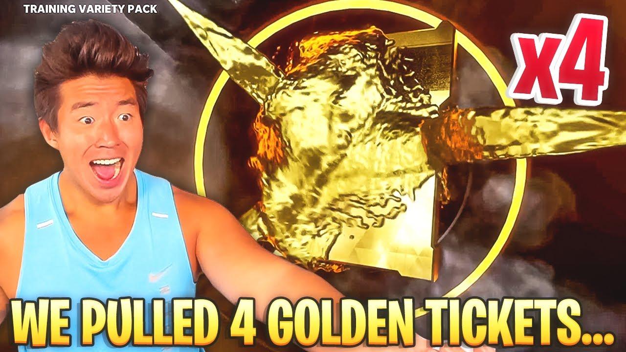 We Pulled 4 GOLDEN TICKETS... Madden 21