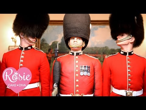 Life Sized Grenadier Guard Cake by Rosie Cake-Diva