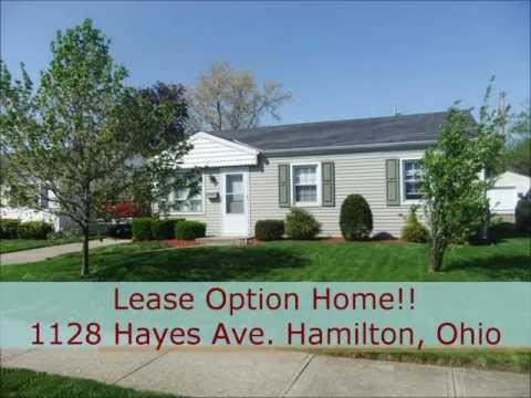 Cincinnati Area Rent to Own Home at 1128 Hayes Ave. Hamilton, Ohio near Cincinnati