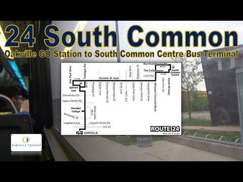 24 South Common - Oakville Transit 2003 Orion VII 4101 (Oakville GO Stn to South Common CtrTerminal)