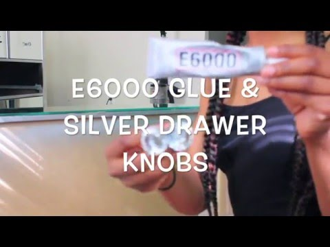 HOW TO: Do It Yourself Silver Mirror Dresser