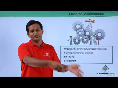 Logistics Management - Machine Management