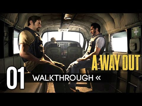 A WAY OUT | Part 1 - Vincent & Leo | Gameplay Walkthrough / No Commentary 【Full Game】