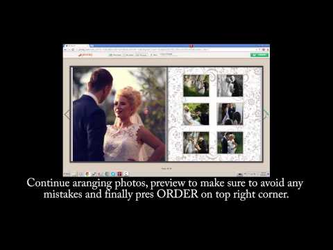 Pixmig - How to create and order photobook online