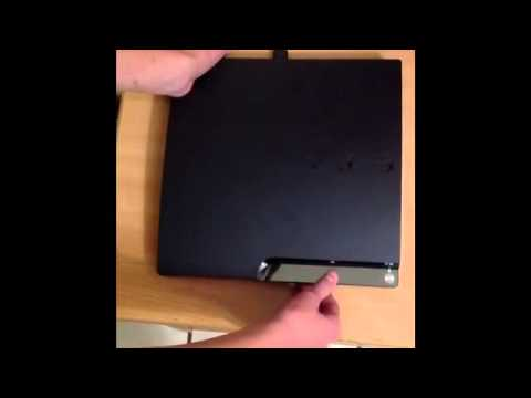 How to clean the PS3 inside!