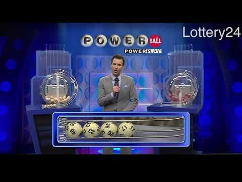 2018 05 30 Powerball Numbers and draw results