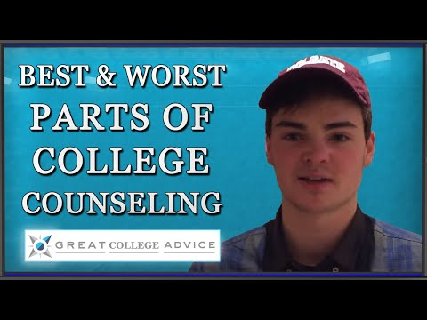 Student describes the best and worst of working on college admissions with Mark Montgomery offer