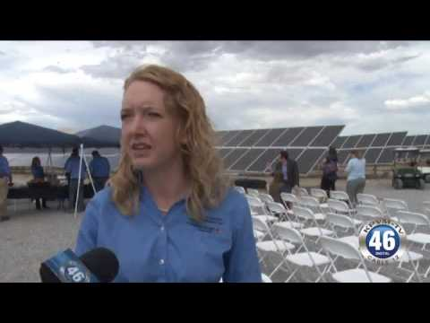 09/28/2016 Ribbon Cutting Community Solar Plant