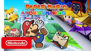 Paper Mario: The Origami King - Announcement Trailer - Nintendo Switch