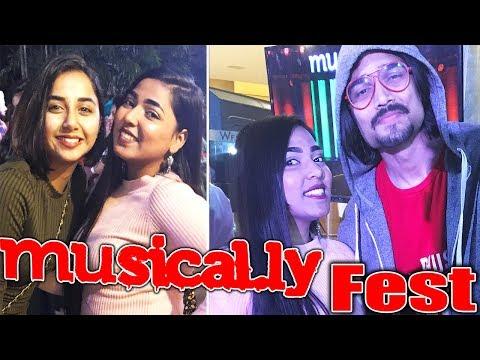 Musically fest 2018 | Met BB ki vines, Mostlysane etc😱😍 | Musically 4th Meet & Greet MnG