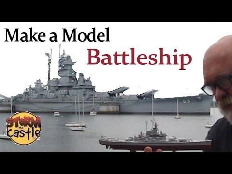Make a Plastic Model Battleship