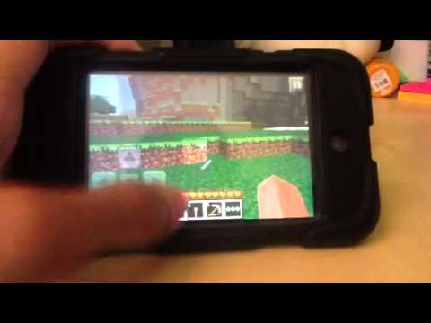 Minecraft pocket edition tutorial- How to drop items from your inventory