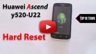 HUAWEI Y520-U22 WIPE DATA FACTORY RESET - PakVim net HD