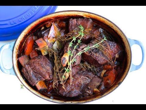 Dinner Recipe: Easy Braised Short Ribs by Everyday Gourmet with Blakely