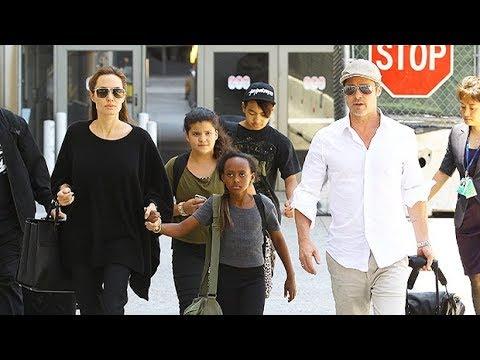 Angelina Jolie At Risk Of Losing Physical Custody Of Kids To Brad Pitt - NY Daily News