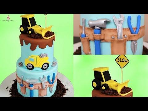 Construction Cake Tutorial!