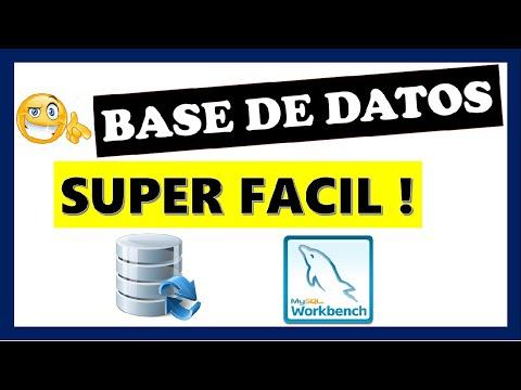 Crear base de datos en MySQL WorkBench
