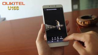 OUKITEL U15S hands on with antutu tests