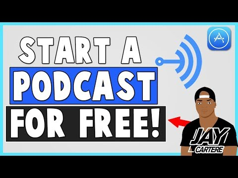 How To Start A Podcast For Free - How To Submit A Podcast To iTunes For Free - Using Anchor.fm