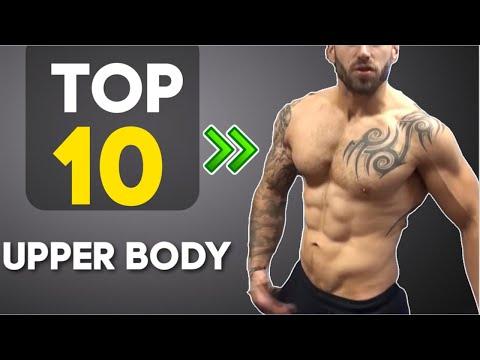 Top 10 No Equipment Upper body exercises