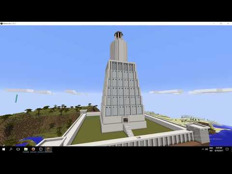 Lighthouse of Alexandria in Minecraft!