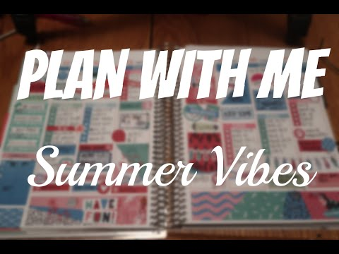 PLAN WITH ME | ColorPop Paper