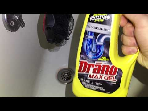 How To Unclog A Drain With Drano Gel Commercial Strength