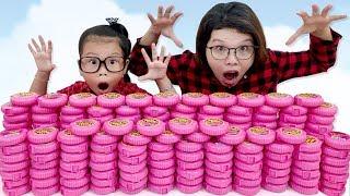 Download TẶNG 200 HỘP KẸO HUBBA BUBBA - BIG GAME ❤Susi kids TV❤ Video