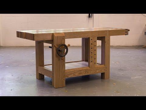 Making 'Bertha'   The Roubo Workbench