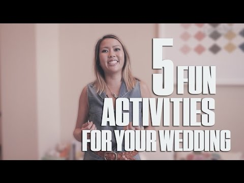 5 Fun Activities For Your Wedding Day - Woo Wednesday