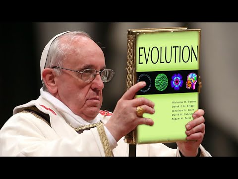 Pope says Christians should believe in evolution and Big BangTheory