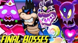 Evolution of Final Bosses in Mario & Luigi Games (2003-2017)
