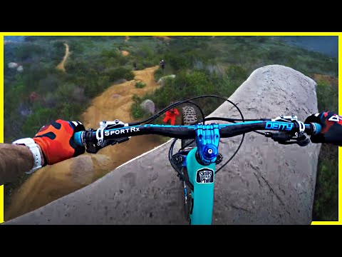 Riding one of San Diegos Best mountain bike Trails | Ted Williams MTB Trails