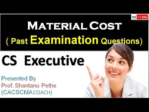 CMA=PEQ=02=Material cost