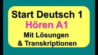 Deutsch test start horen 1 Practice materials