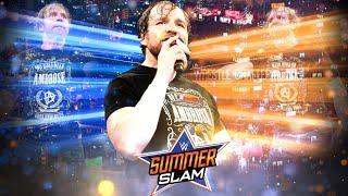 Dean Ambrose Surprise Returns At Summerslam 2018 ? Dean Ambrose Returns 2018 Update !