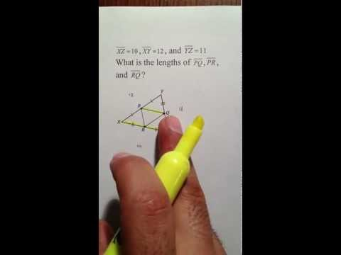 Moya Math Geometry (Midsegment Theorem)