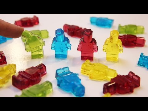 Gummy Lego Minifigures - Food Toys - How To Make It
