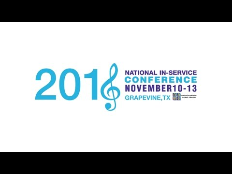 The Barbershop Harmony Society was proud to be a part of NAfME's National In-Service Conference