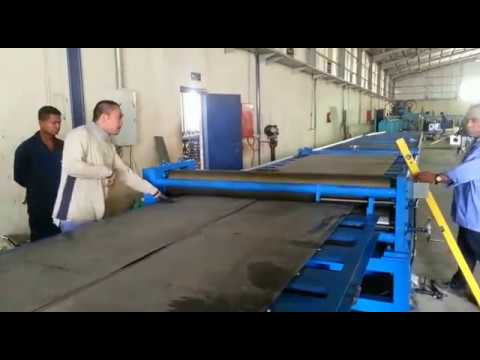 STEEL PLATE TAPERED CUTTING MACHINE